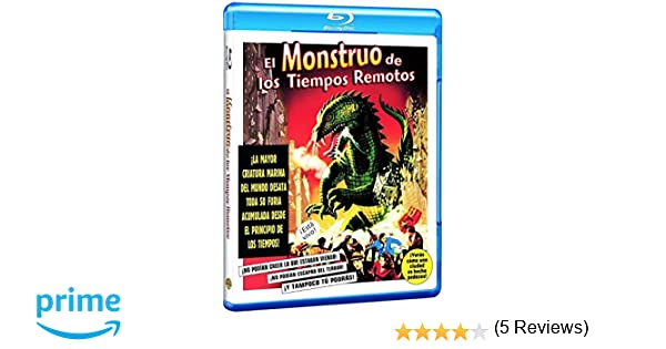Monstruo Tiempos Remotos Blu-Ray [Blu-ray]: Amazon.es: Paul ...
