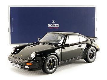 Norev Miniatura de Coche Porsche 911 Turbo 3.3L 1977 (Escala 1/18, 187576, Negro: Amazon.es: Juguetes y juegos