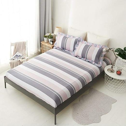 Lyrbeibei 160x200 cm Tamaño Ruso Funda de colchón de sábanas 100 ...