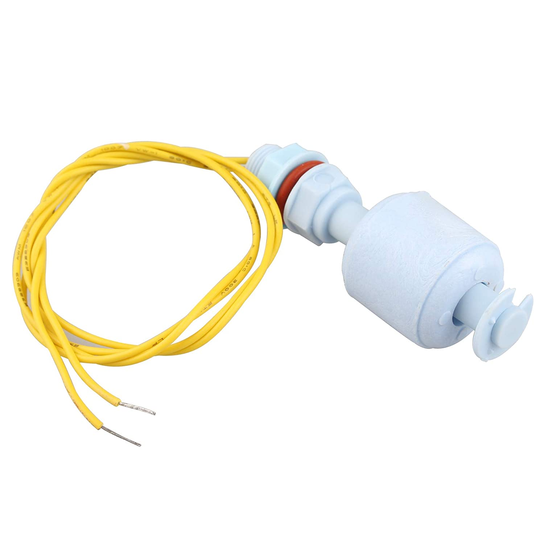 Interruptor de flotaci/ón Vertical Mini Sensor de Nivel de Agua l/íquido Tanque con Sensor de Agua l/íquido Flotante Haljia