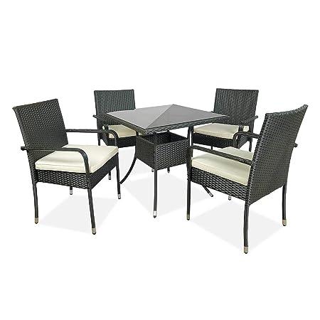 Conjunto De Mesa Y Silla Muebles de jardín Silla de mesa al aire ...