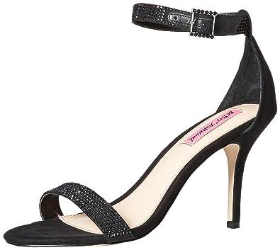 Betsey Johnson Womens BRODWAY Dress Sandal, Black, ...