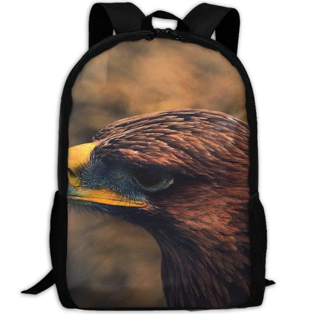 3e1cccabdcd2 Amazon.com : CaiLii Adult Travel Hiking Laptop Backpack Birds Eagle ...