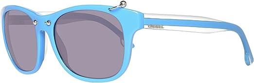 Diesel Sonnenbrille DL0048 5387A Gafas de sol, Azul (Blau), 53 para Mujer