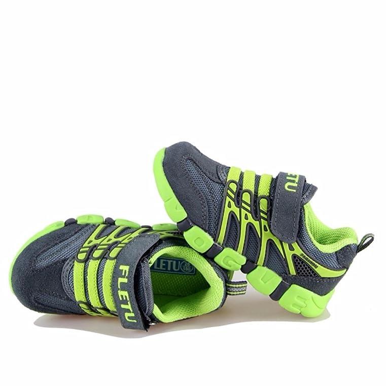 Enfants De Moonwalker Unisexe Chaussures De Sport (35 Eur, Gris)