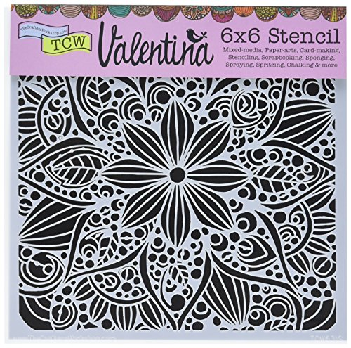 Template Doodle - CRAFTERS WORKSHOP Crafters Workshop TCW631S Template, 6