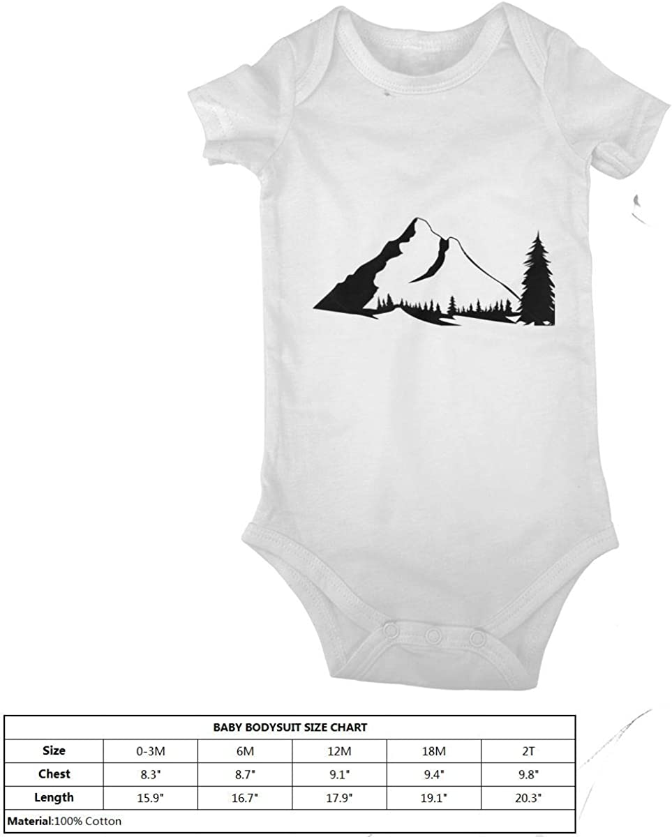Shanghao Berge Silhouetten Baby Onesies Neugeborenes M/ädchen Junge Jumpsuit Bodysuit Outfits