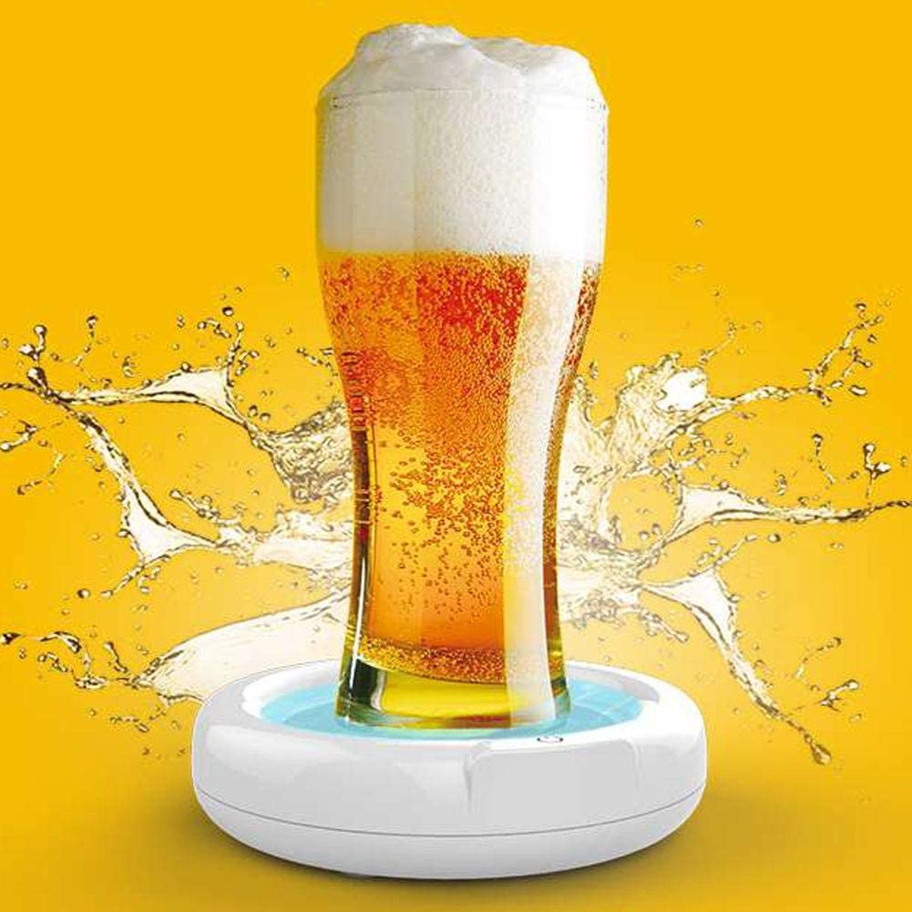 3.7V 110KHZ Ultrasonic Beer Beer Maker Gonfiatore di Birra Batteria al Litio Integrata 1800mah per riunioni//Bar di Famiglia Topiky Beer Foamer