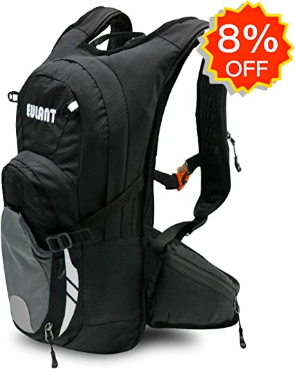 Not Included Water Bladder EULANT Hydration Backpack Multi-Function Riding Backpack for Hiking Running Cycling Camping and Mountain Outdoor Air Director Back Pane for Kids Women and Men