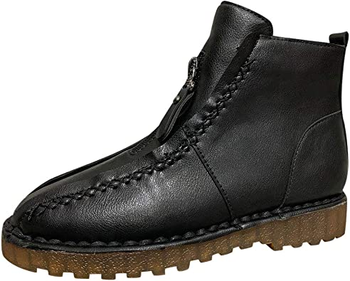 Ankle Boots No Heel, Fheaven Womens