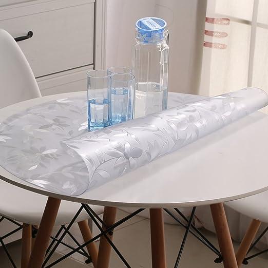 Amazon Com Dgjtdf Round Tablecloth Pvc Round Table Cloth