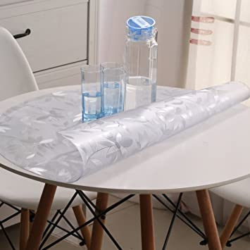 Round Tablecloth/PVC[Round Table Cloth Waterproof]/Soft Proof Glass Table