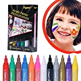 Acrylic Paint Pens,Paint Marker Pen,Permanent Paint Markers Set for Paper,Glass,Metal,Canvas,Wood,Ceramic,Fabric Painting,DIY Crafts,Quick Dry,12 Colors