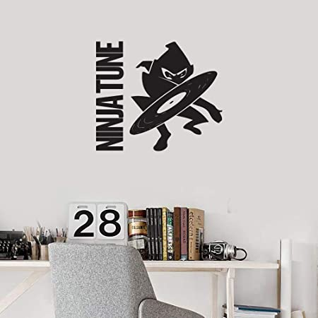 Amazon.com: Ninja Tune Records (Black) (Set of 2) Premium ...