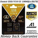 Amplim 2 Pack 32GB Micro SD SDHC TF Flash Memory Card Plus Adapter for Cell Phone, Tablet, Camera, Drone 8 CELL PHONE/TABLET COMPATIBILITY: Samsung Galaxy J2 Tab A Note8 Note 8 S8 S9 Plus S8+ Active S7 S5 S6 J7 V Max edge J5 J3 Emerge Perx E5 Prime Z4 Amp Express 2 Xcover 4 Tab S3 S2 E A Book 8.0 S2 9.7 View C7 C9 Pro A7 A5 A3 Eclipse Note5 On5 Amp 2 Halo; LG V30 V30+ V20 V10 X charge Q8 Q6 G6 G6+ G5 G4 X K8V venture Stylo 2 3 Plus Power Harmony K20 V Fortune Phoenix 3 G Pad X II F2; Amazon Fire HD, Microsoft Surface Pro 3 4; ASUS ZenFone V Live 4 Selfie Pro 3S 10 LTE Live AR 3 Zoom ZenPad Z10 Z8 Sony Xperia XZ Premium XA1 Plus Ultra XZ1 Compact L1 XZS XCompact XA Z5 M5; HTC One U11 life Desire 555 U Ultra Play 530 625 10 A9; Motorola Moto X4 G5S Plus Z Z2 Force Edition E4 Play G5 G4 Plus Bolt Droid tab MAXX 2 TURBO 2; Huawei Honor 9 7X 6C 8 Pro View 10 V10 Mate 10 Lite Y6 Pro P8 P9 Lite P10 Plus mini nova 2 Plus6A nova 2 Y7 Prime; OPPO F5 R11 F3 Plus; Xiaomi Redmi Y1 Lite Mi A1 Max 2 5 Plus Note 4X; ZTE Blade X Force Vantage Z Max XL 3 V8 Mini Lite Pro Axon M Blade Zpad Nokia 2 8 3 5 6 Alcatel IDOL 4 5 LED A7 A30 Tablet Fierce U5 HD Idol 5S A30 Plus A50 Pulsemix; BlackBerry KEYone PRIV; BLU Life One X2 Mini R1 Plus Tank Xtreme Dash L3 Vivo XL2; Razer Phone; nubia N2 N1 Lite;; ARCHOS 50 55 Graphite; FiGO Gravity; DuraForce PRO; Ellipsis 8 HD Gizmo Tab; Lumia 735 640 650 950 XL; AT&T Trek 2 HD G Pad X 8.3 8.0 F II 10.1 Lancet 626 626S; LG Exalt LTE Aristo K3 Fortune; Elipsis 10; ZTE Avid TRIO Overture Tempo X Prestige 2; Alcatel TRU FIERCE 4 ONETOUCH IDOL Revvl Plus