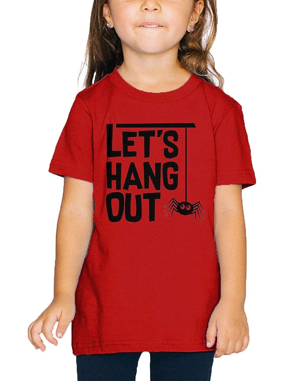 SpiritForged Apparel Lets Hang Out Spider Toddler T-Shirt