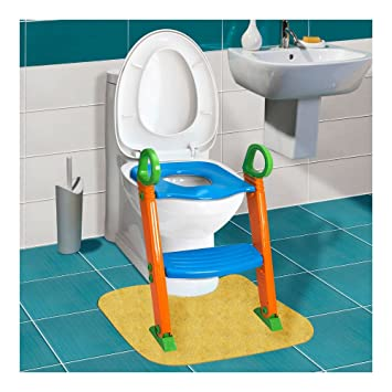 Incredible Amazon Com Kids Potty Training Seat With Step Stool Ladder Creativecarmelina Interior Chair Design Creativecarmelinacom
