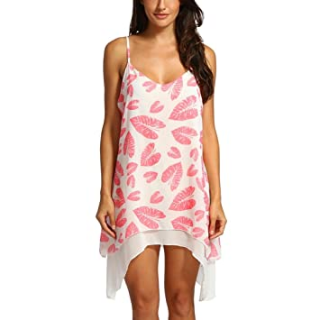Vestido de verano de talla grande para mujer (L ~ 5XL), LILICAT®