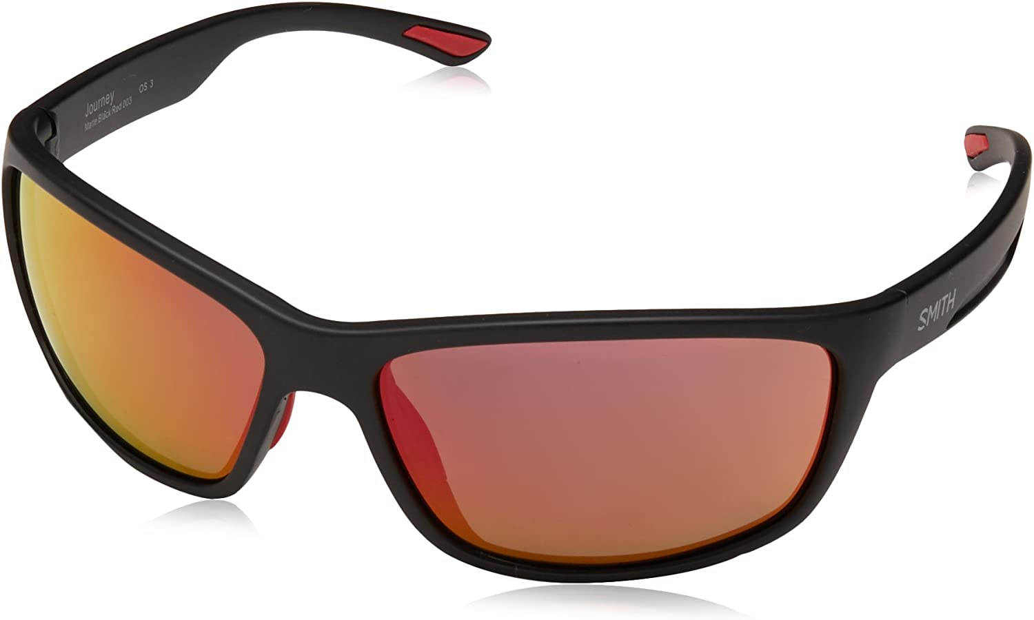 Smith Journey UZ 003 63 Gafas de sol, Negro (Matt Black/Grey), Unisex Adulto