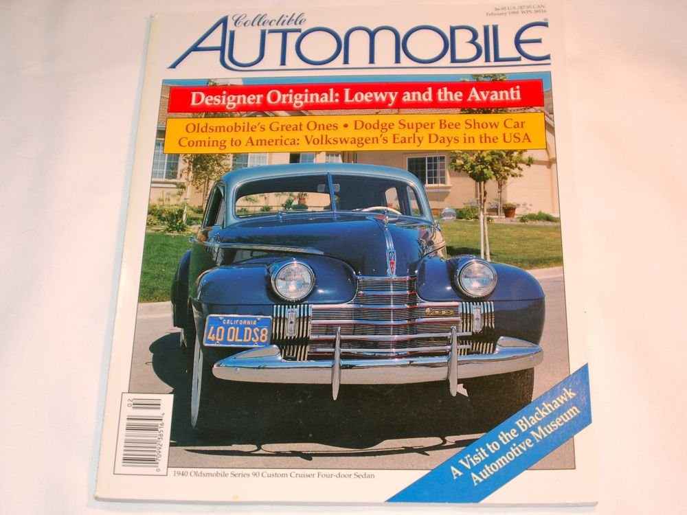 Collectible Automobile Magazine February 1998 Volume 14 No 5 John
