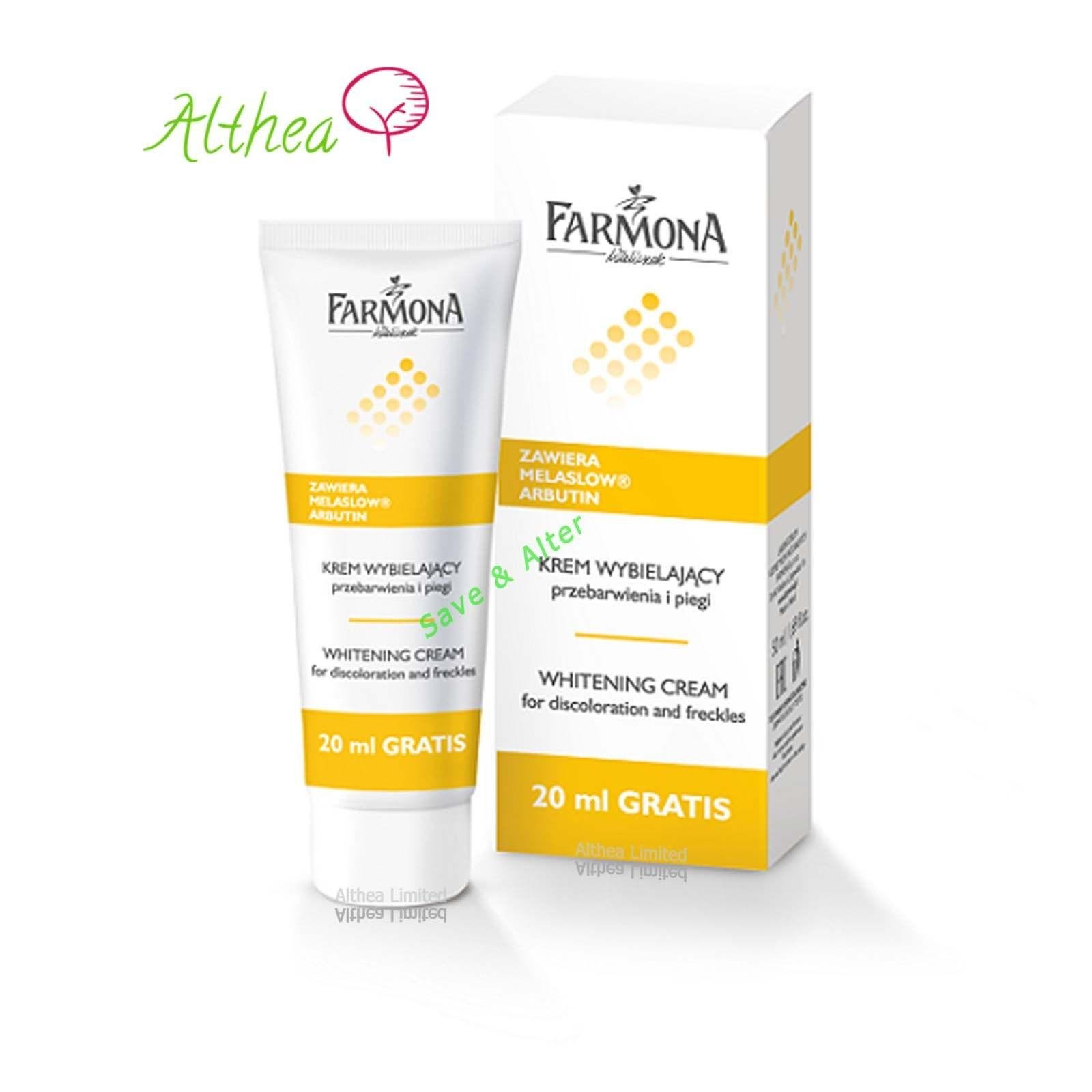 Farmona Whitening Cream for Discoloration and Freckles 50ml