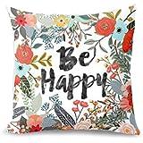 Beautyvan Soft Christmas Pillow Case Sofa Waist Throw Cushion Cover Home Decor (2~E)