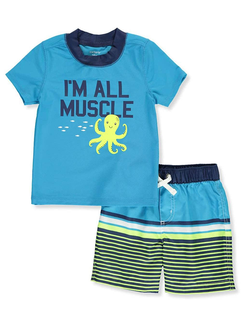 e37b1e8d98 Amazon.com: Carter's Baby Boys' Sailing Swim Set: Clothing