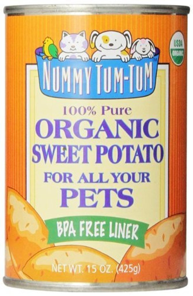 Nummy Tum Tum Pure Sweet Potato for Pets, 15 Ounce (Pack of 12)