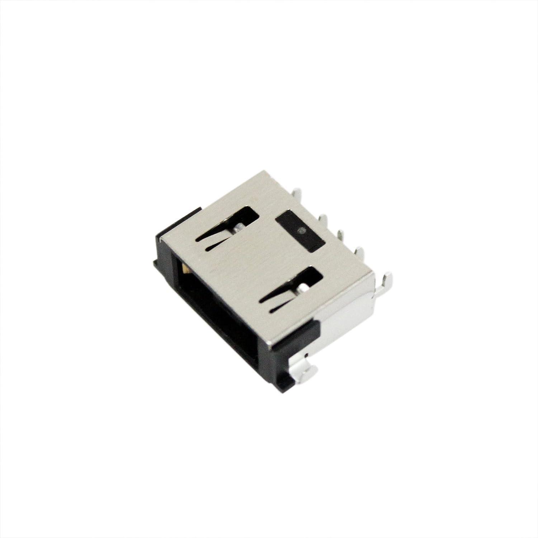 GinTai DC Power Jack Socket Plug Charging Port Replacement for Lenovo Ideapad L340-15IRH (81LK Y540-15IRH 81SY 81SX Y540-17IRH 81Q4 Y740 (LH)