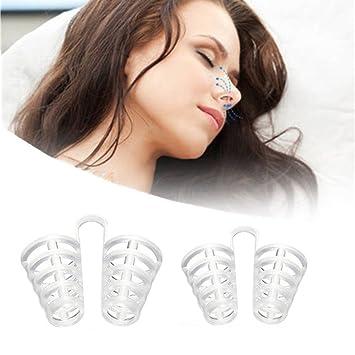 Ayuda respiratorio y antirronquidos 2 piezas Dilatador nasal anti para snore-free-band igliora