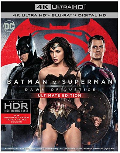 Batman v Superman:DOJ (4K/BD)