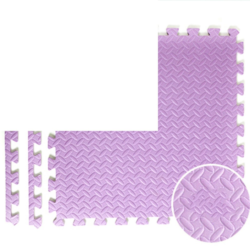 NRQU Door mat,Gate pad,Thicken,[child],Bubble pad,Mosaic crawl mat,Bedroom non-slip floor mat-E 60x60x2.5cm(24x24x1inch)