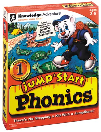 Jumpstart Phonics Learning System Ages 3-8