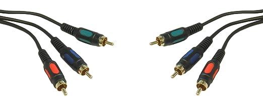 1 opinioni per CDL Micro-0,30 Meters, 0,5 M, 50 cm, oro, 3 RCA YPbPr Component RGB YUV con
