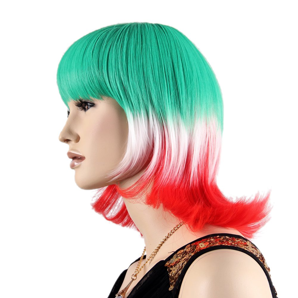 Amazon.com : Stfantasy Wigs for Women Short Straight Heat Friendly Synthetic Hair 13