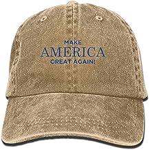 DNUPUP Adults MAGA Make America Great Again Adjustable Casual Cool Baseball Cap Retro Cowboy Hat Cotton Dyed Caps