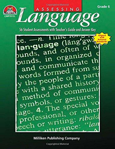 Assessing Language - Gr 6 -  Rosemary Hug, Student, Paperback