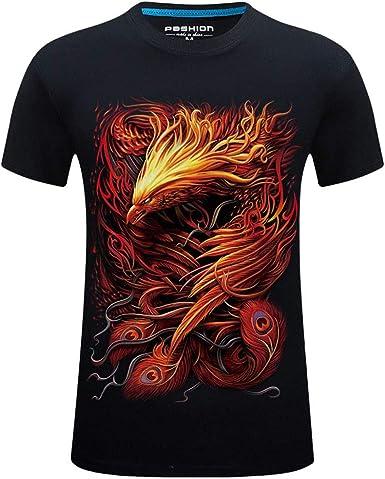 Camiseta Casual de Manga Larga para Hombre instalaci/ón de m/úsculos para Atletas
