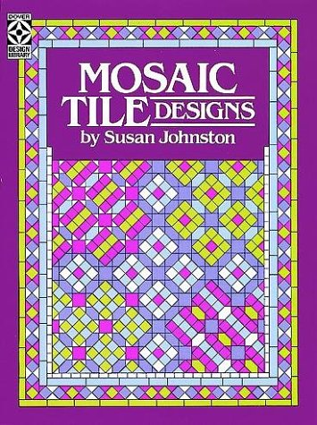 Mosaic Tile Designs (Colouring Books)