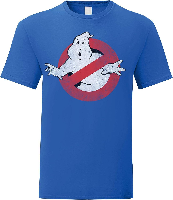 Maglietta 100/% Cotone LaMAGLIERIA T-Shirt Donna Ghostbusters