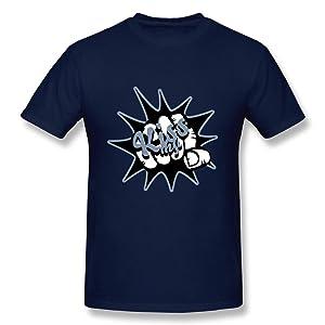 HM Men's T Shirt Fight Fist Size S Navy