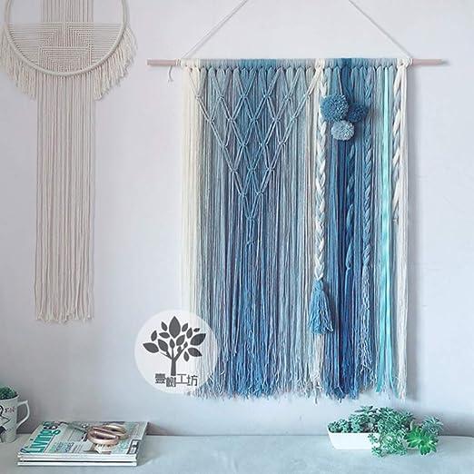 Bohemian Handmade Macrame Tassel Woven Tapestry Wall Hanging BOHO Chic Art Decor