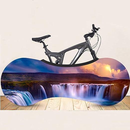 Cubierta De Almacenamiento Interior Para Bicicletas - Sunset - Cubierta De Bicicleta De Montaña Para Interiores - Cubierta De Almacenamiento Para Bicicletas - Se ...