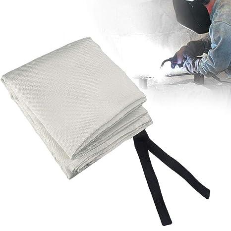 Manta de soldadura ignífuga ignífuga retardante de llama Soldador de fibra de vidrio protector de seguridad