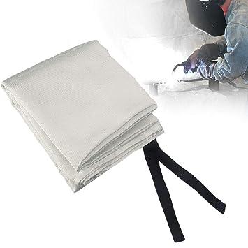 Schwei/ßdecke und Feuerdecke mit verschiedenen Gr/ö/ßen Emergency Survival Blanket 1.8*1.8m Tonyko Heavy Duty Fiberglas Schutzdecke