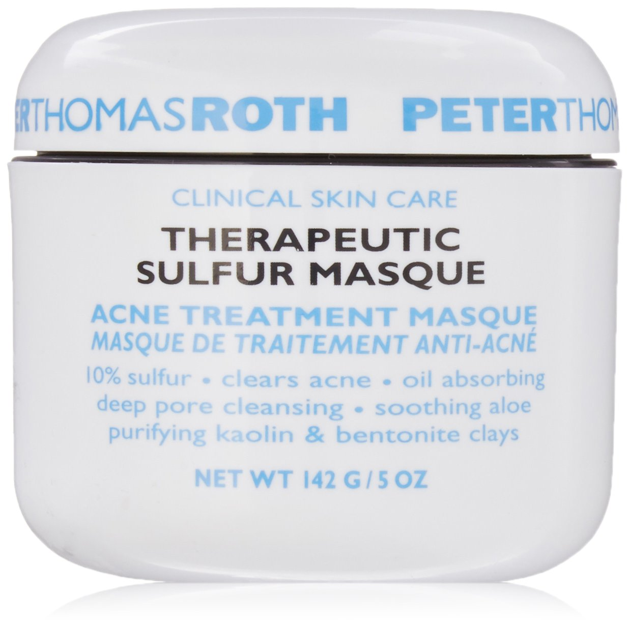 Peter Thomas Roth Theraputic Sulfur Masque, 5.0 Ounce 670367014028