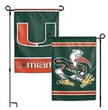 NCAA University of Miami Hurricanes 12 x 18 inch