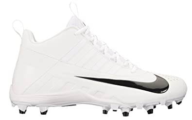 366b7202e Nike Men's Alpha Huarache 6 Varsity Lax Lacrosse Cleat White/Black Size 11  ...