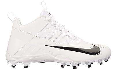 a282a1941 Nike Men's Alpha Huarache 6 Varsity Lax Lacrosse Cleat White/Black Size 11  ...