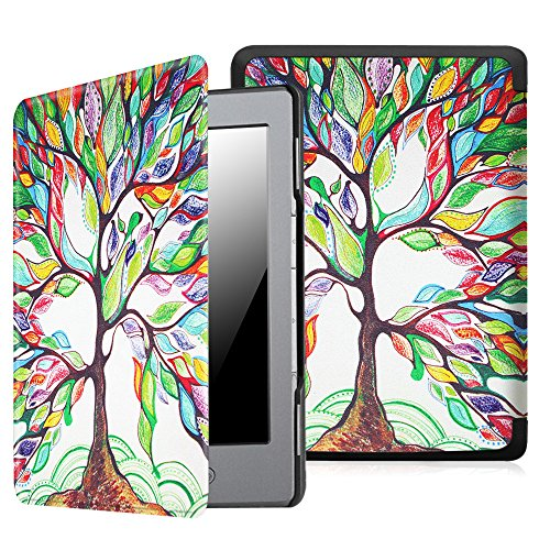 fintie-ultraslim-case-for-kindle-5-kindle-4-the-thinnest-and-lightest-pu-leather-cover-with-magnet-c